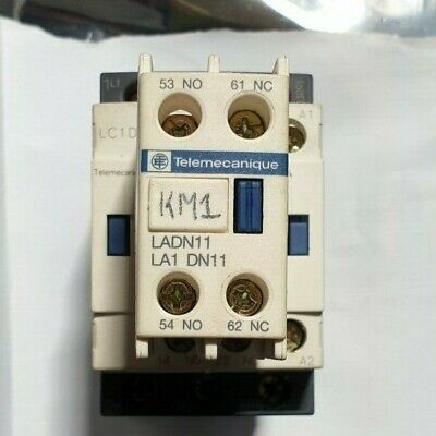 TELEMECANIQUE LC1D09 CONTACTOR WITH Contact Block LADN11 (R3S3.6B1)