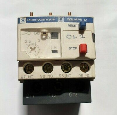 Telemecanique Thermal Overload Relay LRD08 (R3S3.6B1)