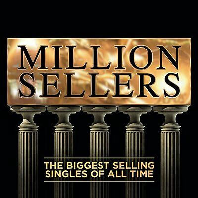 MILLION SELLERS ~ ALL TIME GREATEST HIT SINGLES NEW 2CD 1960s 70s 80s 90s 2000s