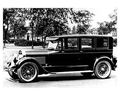 1925 Lincoln Limousine Factory Photo uc0337