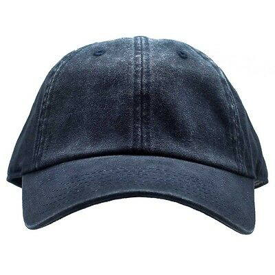 9c86732747c NWT AMERICAN NEEDLE Navy BLANK Tonal Ballpark Raglan Washed Baseball Hat  -SALE