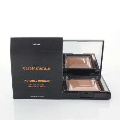 BareMinerals Invisible Bronze Powder Bronzer Medium 0.24oz/7g NEW IN BOX