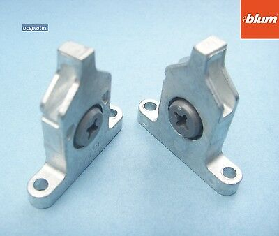 Blum Tandembox Drawer Front Fixing Brackets x 2 ZSF.3502 (pair)