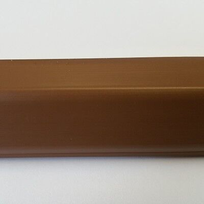 1M Cable Channel Brown 19x16mm Self Adhesive, Connector Available