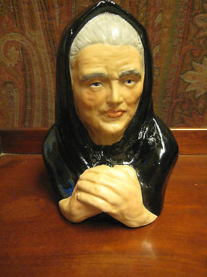 Vintage Figurine Of Lady Praying The Critic Limerick China  Ireland Rare