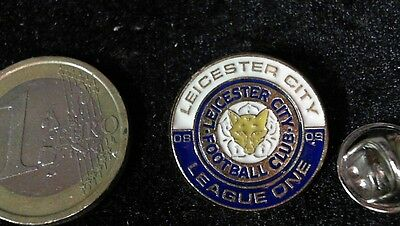 Fussball Pin Badge Leicester City Foxes Division One Logo Wappen Emblem