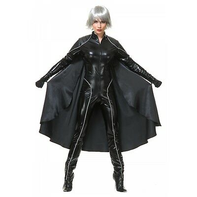Storm Costume Adult Womens Superhero Halloween Fancy Dress