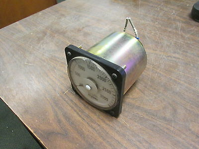 GE Ammeter 103131LSUA7PLY Range: 0-3000A AC Used