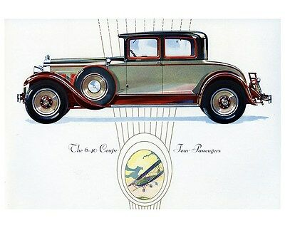 1929 Packard Custom Eight 6-40 Four Passenger Coupe Photo ca6530