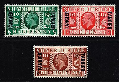 Tangier 1935 Silver Jubilee set, MH (SG#238/240)