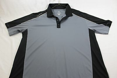 Oracle Computer yacht America's Cup XL black gray polo