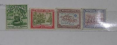 Western Samoa Stamps 1939 hinged used