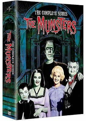 The Munsters - The Complete Series Seasons One & Two DVD Box Set Brand New 1-2