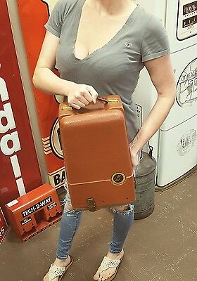 Vintage Revere Camera Co. Model 85 8mm Film Projector with Case Chicago USA