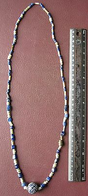 Authentic Ancient Artifact   Viking Bead Necklace VK83