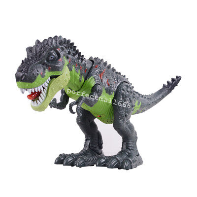 Walking Dinosaur Spinosaurus Kids Light Up Toy Figure Sounds Real Movement LED