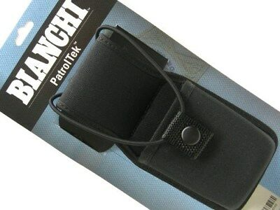 BIANCHI Black Adjustable 8014 PATROL TEK UNIVERSAL Radio Holder New! 31404