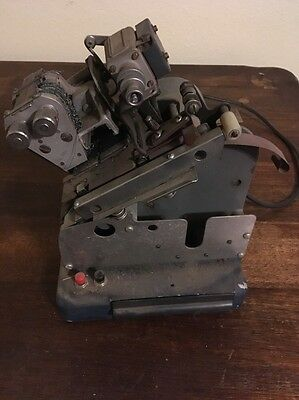 Vintage Kingsley? Machine Co Embossing Machine letters and hot foil press?