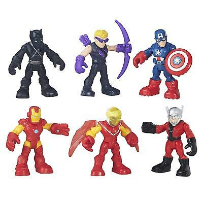 NEW Playskool Super Hero Adventures Captain America Super Jungle Squad 6PK