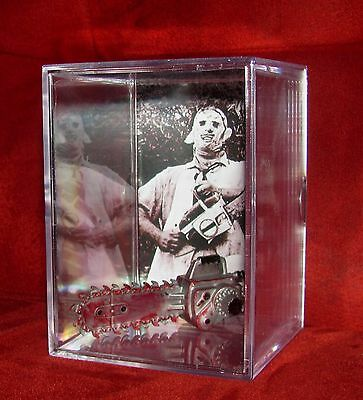 """LEATHERFACE """"TEXAS CHAINSAW Inspired by Display"""" you get what you see..New"""