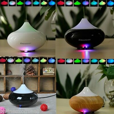 LED Aroma Diffuser Ultrasonic Essential Humidifier Oil Air Aromatherapy Purifier
