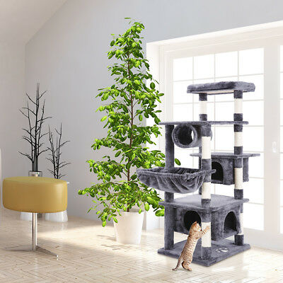 NEW Cat Scratching Post Tree Toy Gym House Scratcher Pole Furniture Multi Level