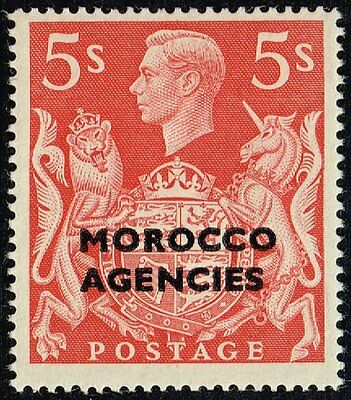 Morocco 1949 5s. red, MH (SG#93)