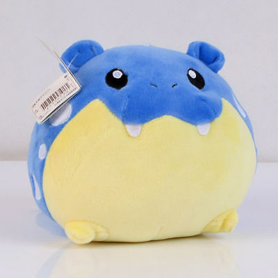 "Spheal Pokémon Center Figure Plush Toy Stuffed Doll 5"" NEW US SELL"