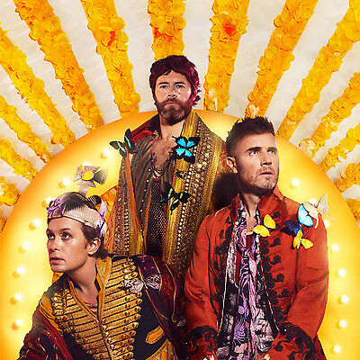 Take That Wonderland Artwork Exclusive Acrylic Fridge Magnet Gary, Howard & Mark