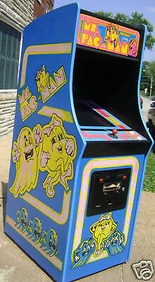 Ms Pacman Arcade Video Game Refurbished-Plays Pacman
