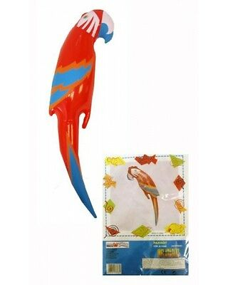 Inflatable Blow Up Parrot 48cm Fun Pirate Party Accessory Prop