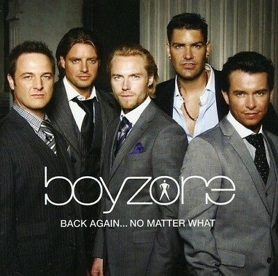 Boyzone - Back Again...No Matter What - The Greatest Hits CD