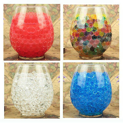 10000pcs Crystal Jelly Beads Water Plant Flower Soil Muds Water Pearls Gel Balls