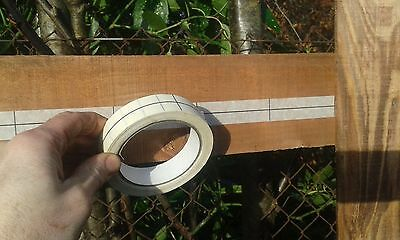 fence railing 100mm feather edge 2 x rolls marking tape