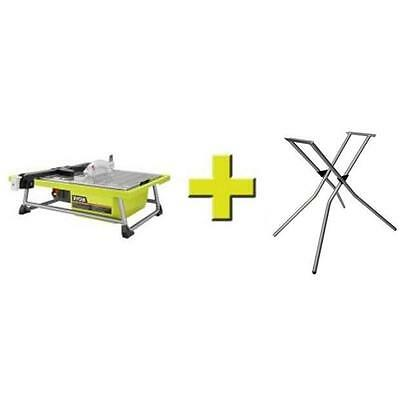 Ryobi 7 in. Tabletop Tile Saw  Model # WS722SN With Stand