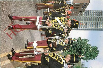 Postcard; Military Uniform, Bandsmen, The Royal Hussars (Prince Of Wales's Own)