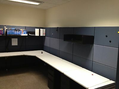 Office Panels, Cubicles, Partitions, Tables, Chairs and 10' IneConference Table.