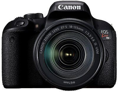 Canon 2017 DSLR EOS Kiss X9i Lens Kit EF-S18-135mm F3.5-5.6 IS USM New in Box