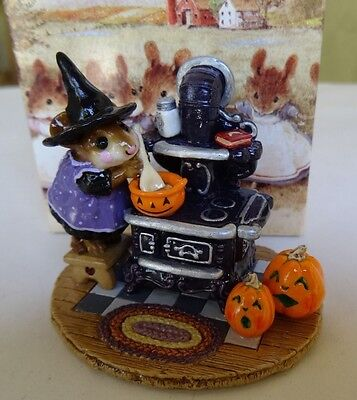 Wee Forest Folk The Old Black Stove (Halloween) - M-185a - Limited