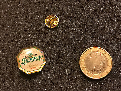 Bier Beer Pin Badge Braustolz Brauerei  Wappen