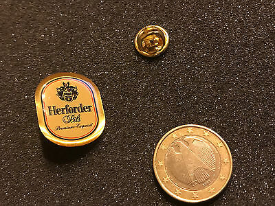 Bier Beer Pin Badge Herforder Pils Wappen