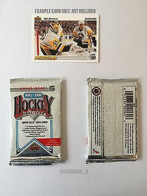 NHL Upper Deck 1991-1992 Unopened Pack