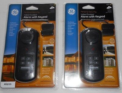 Ge Outdoor/Indoor Alarm With Keypad 45241(lot of 2)