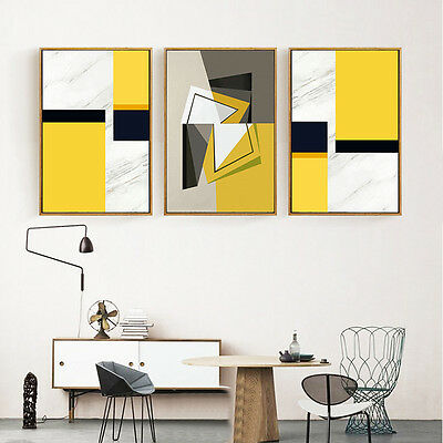 Geometry Abstract Poster Minimalism Art Canvas Print Modern Home Decoration