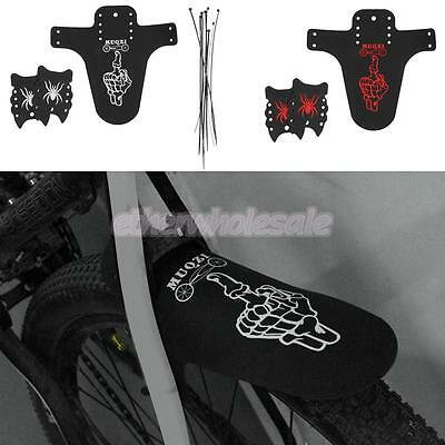 Front Rear MTB Road Bicycle Mudguard Tire Mud Rain Guards Mountain Bike Fenders