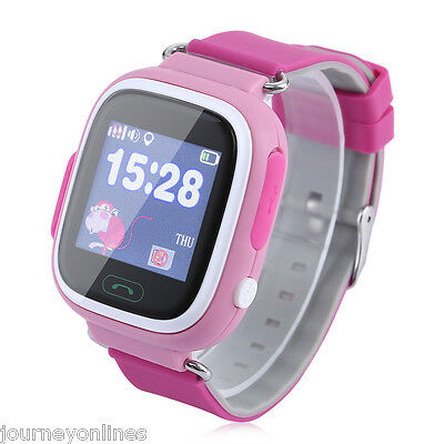 SOS Call Location GPS Safe Anti Lost Monitor Kids Smart Touch Wrist Watch Phone