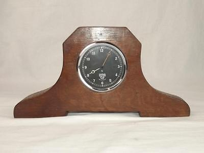 1930's Mantle Clock Made From A Car Dashboard Clock