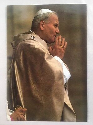 His Holiness Pope John Paul II Postcard - Mint Condition