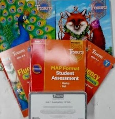 Grade 3 Macmillan McGraw Hill Treasures Reading Curriculum 3rd Homeschool