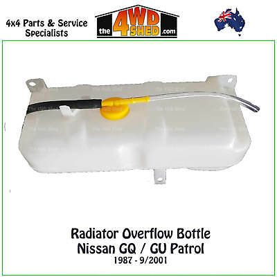 Radiator Overflow Bottle suits Nissan GQ GU Patrol / Ford Maverick - NEW